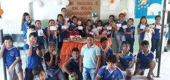 Semana de recreação e brincadeiras em comemoração a Semana da Criança